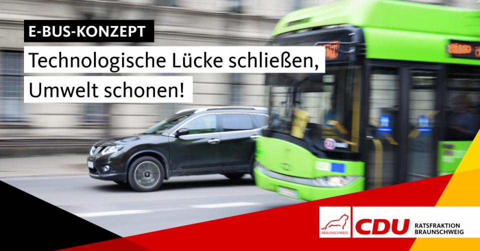 Emissionsfreie E-Busse in der Stadt fahren zu lassen, ist ein wichtiger Beitrag zur Umsetzung von Klimazielen.